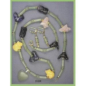 Creature Lover's Necklace Set