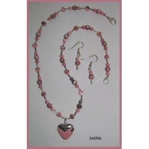 Hearts & Lace Necklace Set