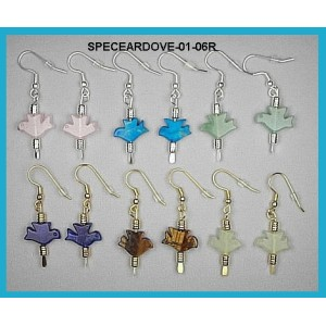 Small Doves Pierced Earring Sets